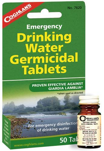 Coghlans Su Arıtma Tabletleri