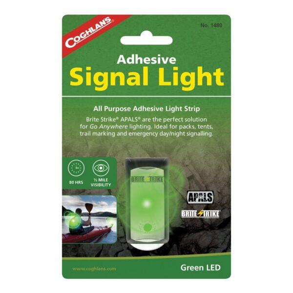 Coghlans Yapışkanlı Yeşil Sinyal Lambası