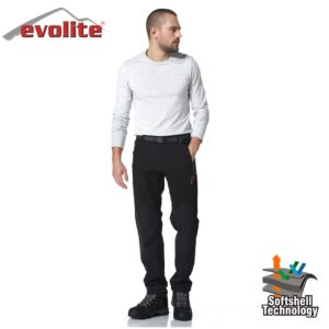 Evolite Bay Blackhole Softshell Pantolon