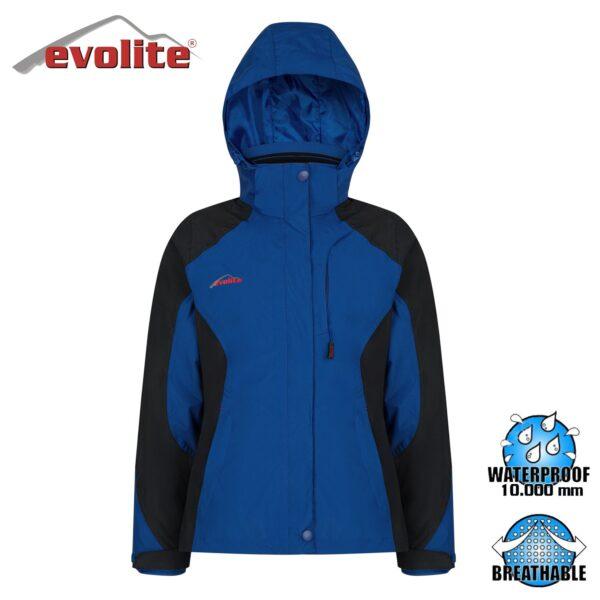 Evolite Diva Bayan 3in1 Mavi/Siyah Mont