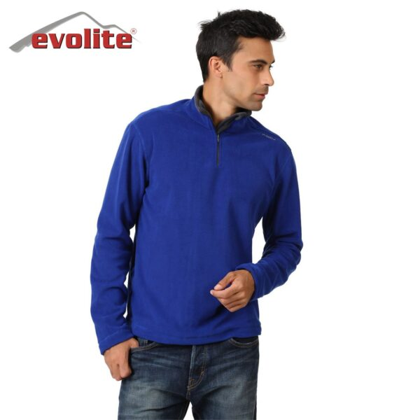 Evolite Fuga Bay Mikro Polar Sweater - Mavi