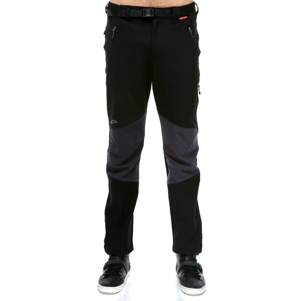Evolite Point Softshell Pantolon - Siyah/Gri