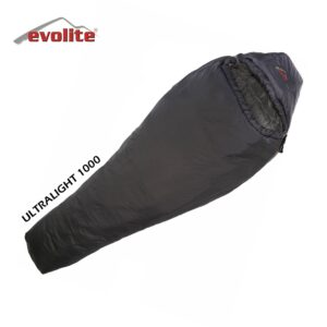 Evolite Ultralight 1000 -5ºC (Siyah) Uyku Tulumu