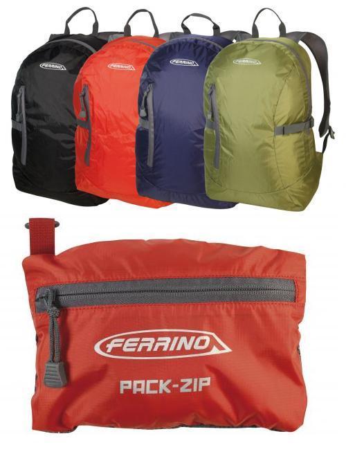 Ferrino Pack-Zip Katlanır Sırt Çantası