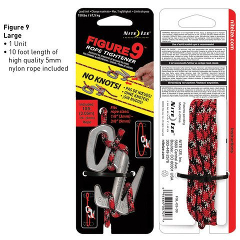 Nite-ize Figure 9 Large Single Pack With Rope