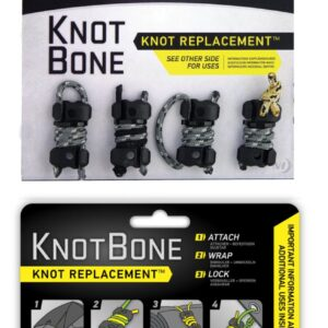 Nite-ize Knotbone No3 4Pack With Cord