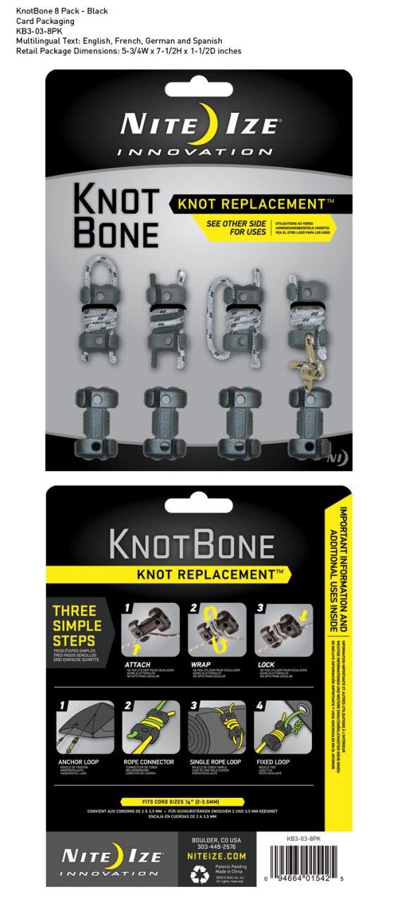 Nite-ize Knotbone No3 8Pack