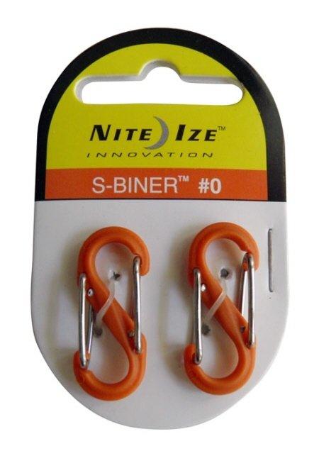 Nite-ize S-Biner Plastik Size 0 Orange