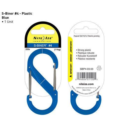 Nite-ize S-Biner Plastik Size 4 Blue