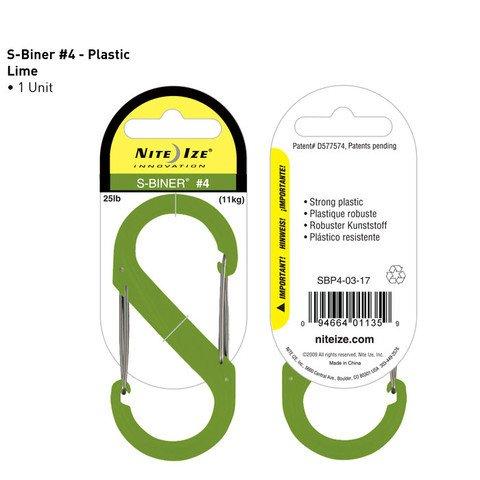 Nite-ize S-Biner Plastik Size 4 Lime