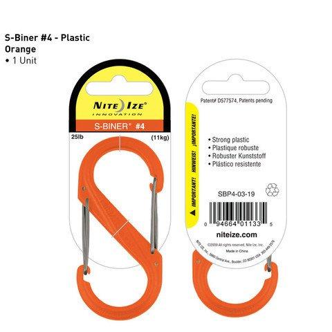 Nite-ize S-Biner Plastik Size 4 Orange