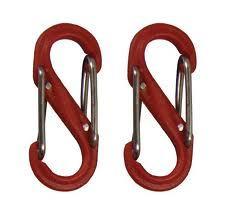 Nite-ize S-Biner Plastik size 0-2PK Red