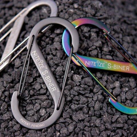 Nite-ize S-Biner Size 1-Spectrum 2PK