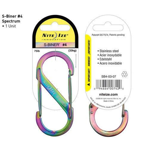 Nite-ize S-Biner Size 4-Spectrum