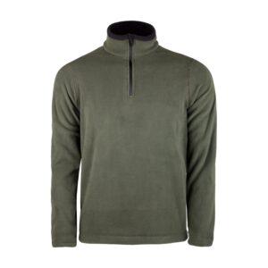 Evolite Fuga Bay Mikro Polar Sweater - Haki